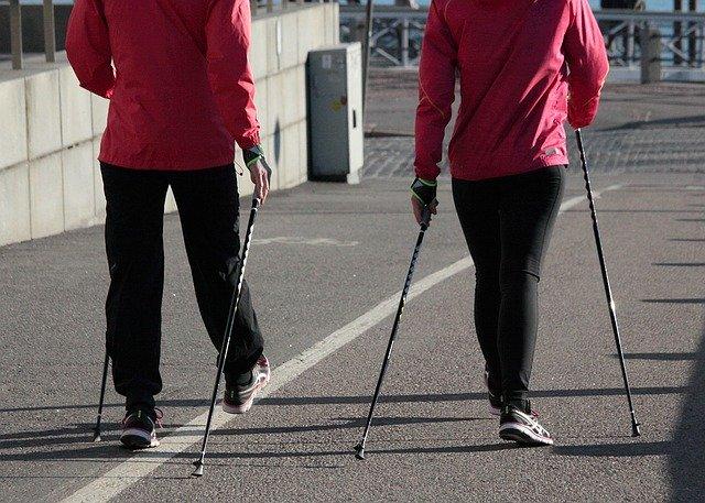 Walking sport technique