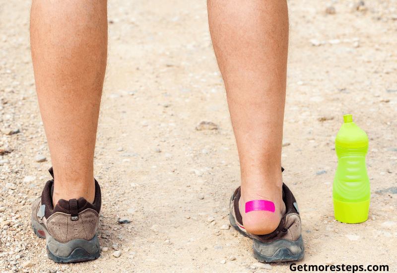 How to get rid from blister when walking long distances