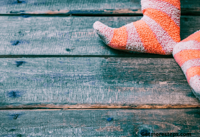 Get the right socks to prevent blister
